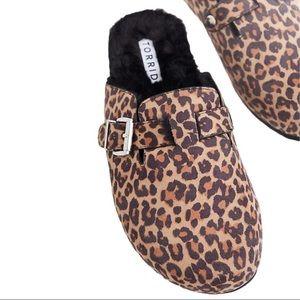 Torrid Leopard Faux Fur-Lined Slip-on Loafers 12